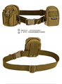 Outdoor Equipment Contracted Tactical Nylon Belt Cycling Camping Hunting Wear Fixed Belt