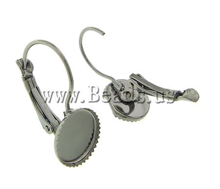 Free shipping!!!Brass Lever Back Earring Component,Jewellery, plumbum black color plated, nickel, lead & cadmium free