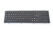 Stainless steel keyboard Black Touch the keyboards Industrial one keyboard