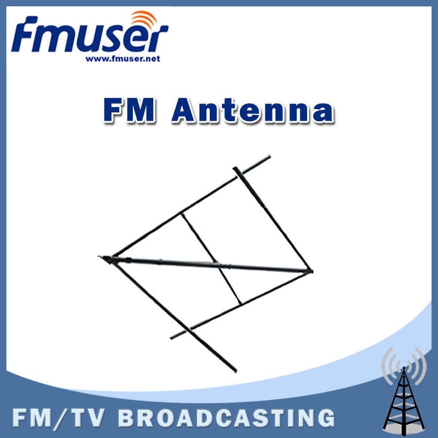 Free shipping FMUSER Circular Elliptical Polarized Antenna Double-crossed FM antenna CP100 for 500w FM Broadcast Transmitter(China (Mainland))