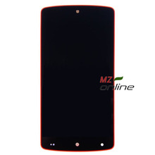 LCD Display For LG Google Nexus 5 D820 D821 Touch screen digitizer full assembly Red Bezel