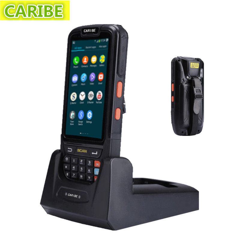 Caribe PL-40LAa044 Portable industrial ordering PDA android usb bluetooth 1d barcode scanner with 4G NFC(China (Mainland))