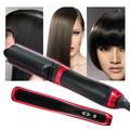 2016 Nova Escova de Cabelo Pente Alisador de cabelo Irons Com Display LCD Auto Rápido Elétrica Pente Cabelo Liso Alisamento
