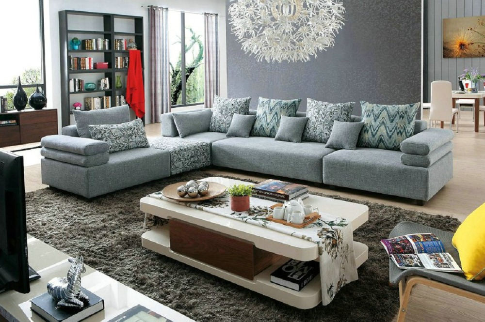 2016 muebles sofas no for living room european style set for Living room sofas on sale