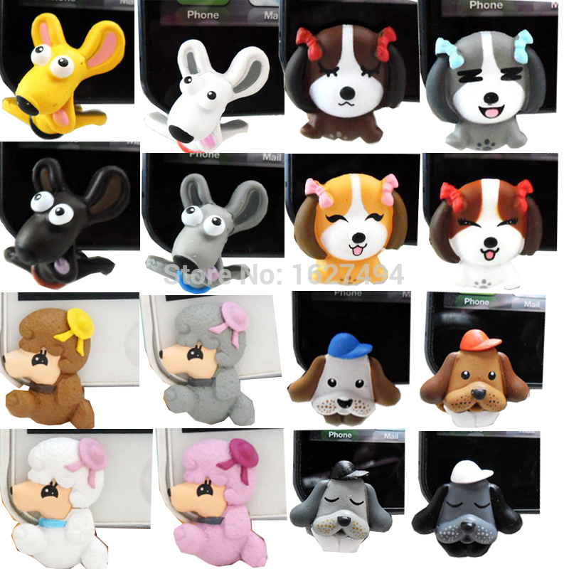 Shiba Inu Dog Anti Dust Plug for Your Phone Telephone Accessories Dachshund Dust Plugs for iphone 5 6 Cell Phones(China (Mainland))