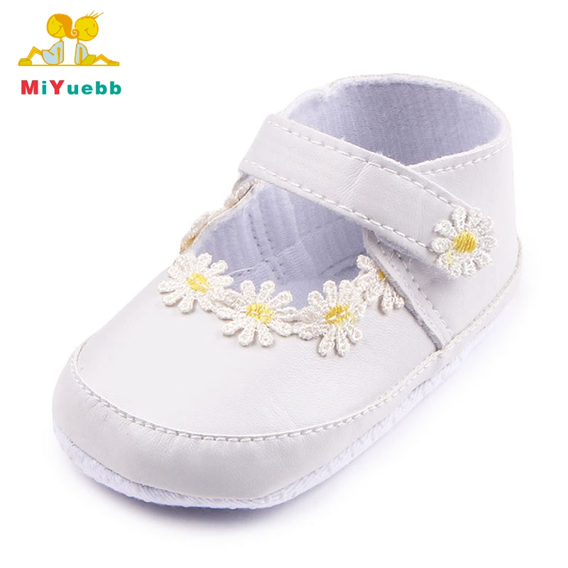 New Arrival Pure White Baby Girl Shoes Baby Dress Shoes