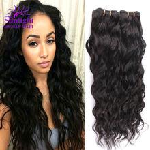 Brazilian Virgin Hair Water Wave Brazilian Hair Weave Bundles Wet And Wavy Virgin Brazilian Curly 3Pcs Lot Human Hair Extensions(China (Mainland))