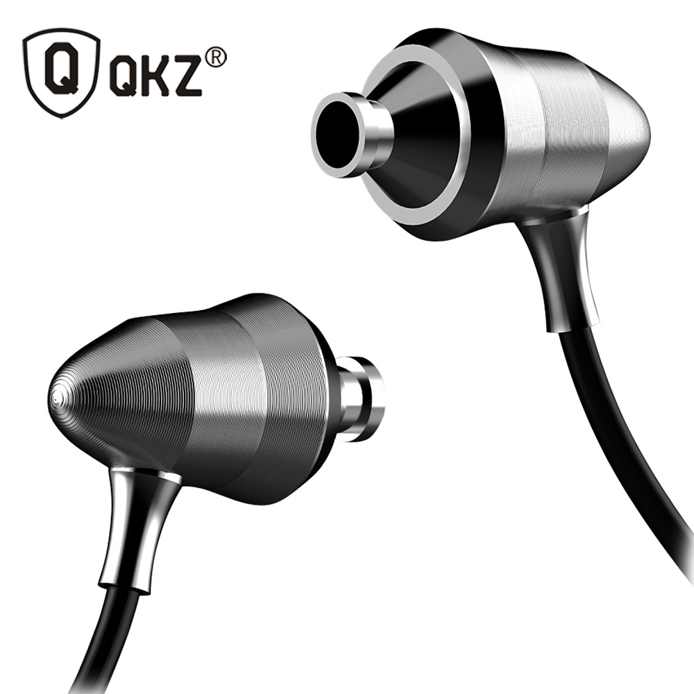 qkz x6 metal version in ear headphones professional sound quality heavy bass headphones q. Black Bedroom Furniture Sets. Home Design Ideas