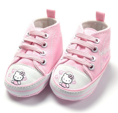 Free shiping new hello kitty pink color baby girl  shoe wear cold season  now new desigen this year