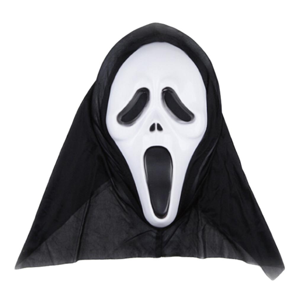 Ghost Horror SCREAM Face Costume Makeup Halloween Fancy Dress ...