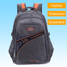Fashion Brand Waterproof Breathable Backpacks Children Boys School Bags Men's Leisure Travel Backpack Laptop Bags (5 Colors)(China (Mainland))