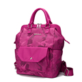 Women Large Capacity Practical Casual Dual purpose Bag Fashion Waterproof Nylon Bag Camouflage Print Hand Bag