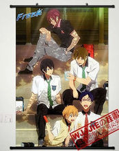 Anime Free! Home Decor Poster Wall Scroll