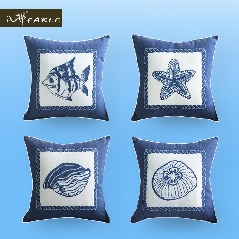 2015 sea wind latest design velvet cushion European decorative pillows top grade pillow cushions ...