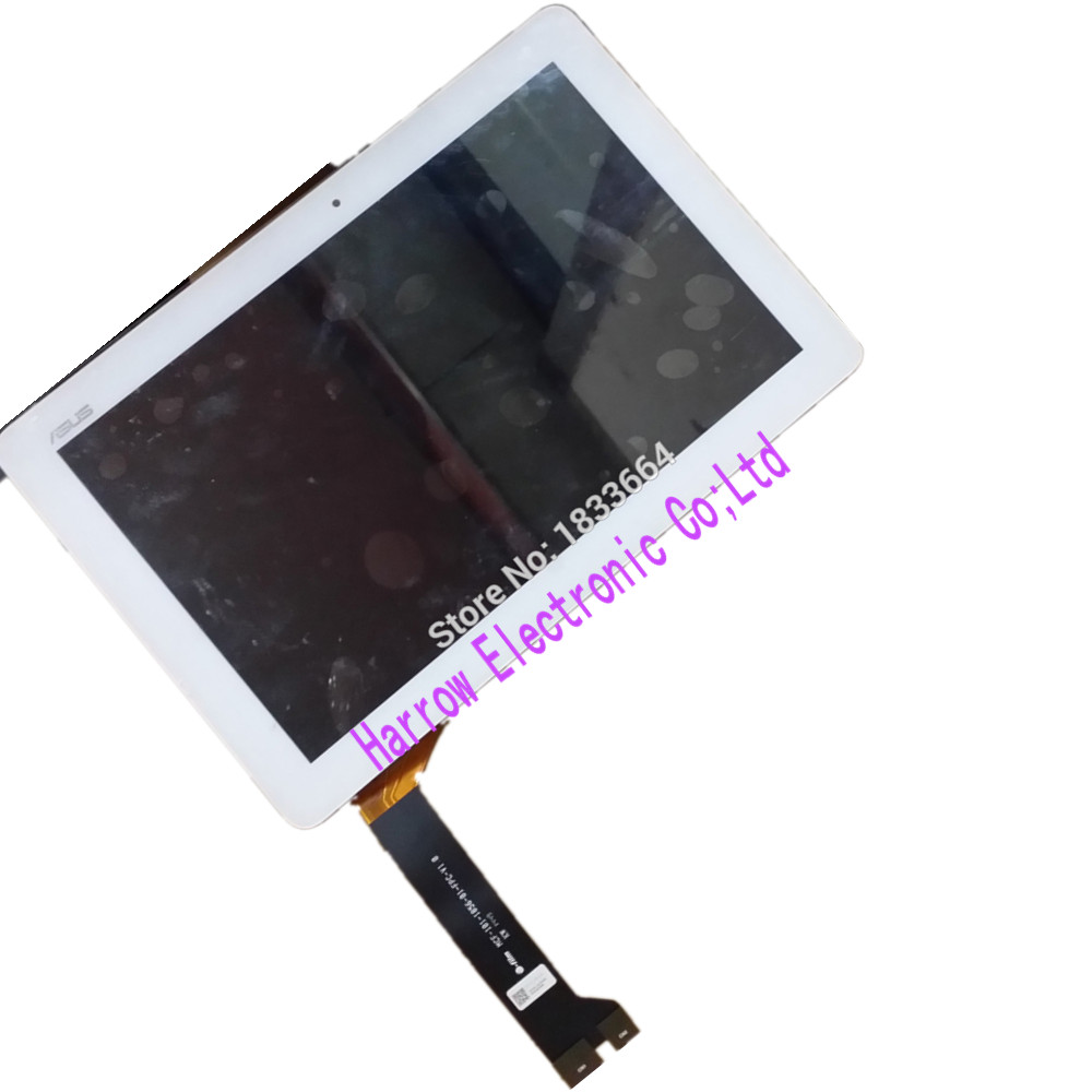 For Asus MeMO Pad 10 ME102 ME102A LCD Display With Touch panel MCF-101-1856-01-FPC-V1.0  version White color<br><br>Aliexpress