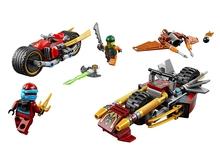 2016 New Arrivals LEPIN Building Blocks Kai's Blade Mech Set Kai Nya Minifigures Buildable Figures Compatible Legoe Ninja - Hand in Toy store