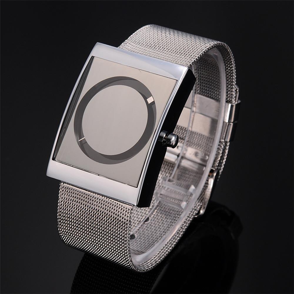 Relojes Mujer 2016 Fashion Alloy Band Stainless Steel Case Sport Military Quartz Wrist Square Men's Watch Relogio Feminino(China (Mainland))
