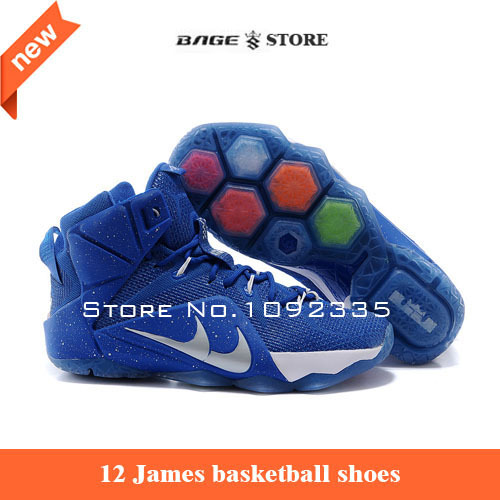 2015 new high james 12 basketball shoes,men all color lebrones 12 elite train basketball shoes(China (Mainland))