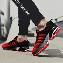 2019 Sport Laufschuhe Männer Paar Casual Schuhe Männer Wohnungen Outdoor Turnschuhe Mesh Atmungsaktive Wanderschuhe Schuhe Sport Trainer(China)