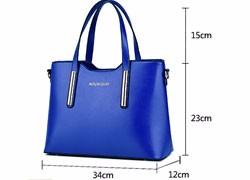 Multifunctional Women Handbag Large Capacity PU Handbag Trendy Korean Style Ladies Simple Shoulder Bag Stylish Elegant Bag
