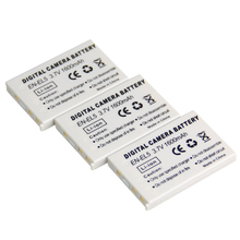 Buy Digital Boy 3pcs 3.7v 1600mAh EN-EL5 EN EL5 ENEL5 Li-ion Digital Camera Battery Nikon Coolpix P90 P100 P500 P510 P520 for $9.54 in AliExpress store