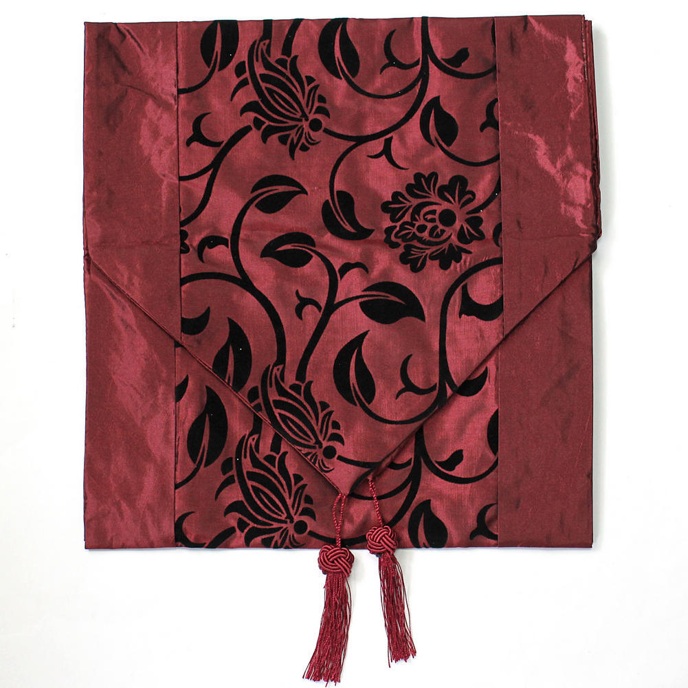 New Vogue Red Table Runner Cloth Home Wedding Party Banquet Decoration for Decorating Home Hotel(China (Mainland))