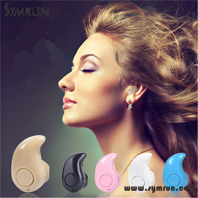 Symrun 2016 Mini Sport Ultra-Small 4.0 Stereo Bluetooth Headset Earphone Earbud Bluetooth Earphone Mini(China (Mainland))