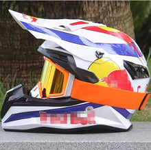 High Quality Motorcycle helmet Protective capacete motorcycle for Women & Men off road motocross Helmets With 1 Googles(China (Mainland))