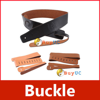 New PU Leather Buckle Electric Guitar Acoustic Firm Strap Straps #02