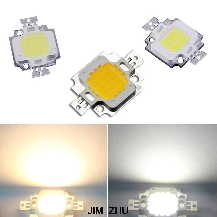 1pc 10w 20w 30w 50w 100w White/warm White 24x40mil Smd Led Bead Chips For High Power Led(China (Mainland))