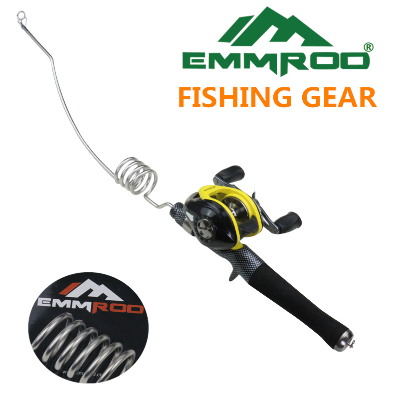2016 New Emmrod Stainless Packer Baitcasting Fishing Rod Combo Casting Pole Ocean Boat Fishing Rod Ocean Fishing by Emmrod(China (Mainland))