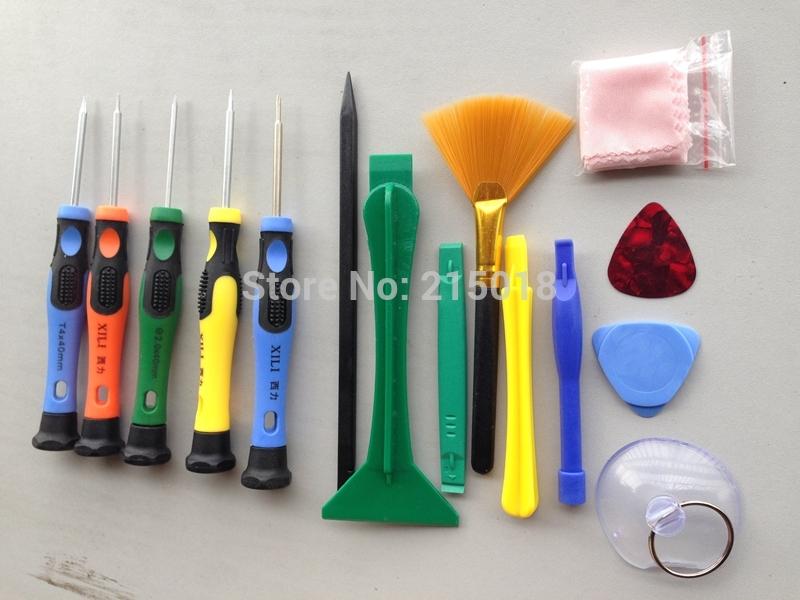 15 in 1 Mobile Phone Repair Tools Screwdrivers Set / Spudger Kit For iPad4 iPhone 5 6 6plus