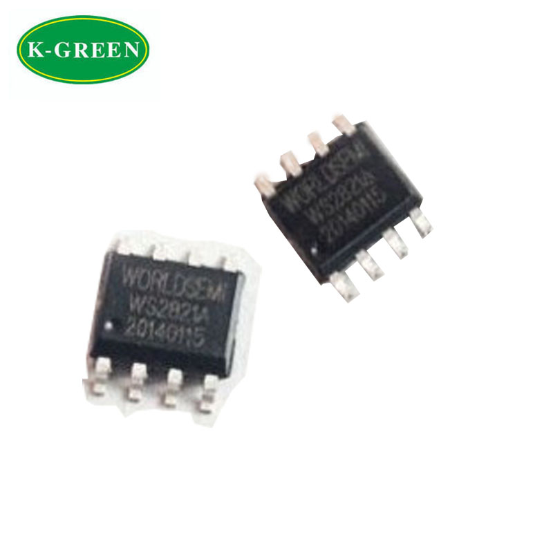 High quality WS2821 LED driver ic chip for DIY dream color led strip or other pixels led project free shipping<br><br>Aliexpress
