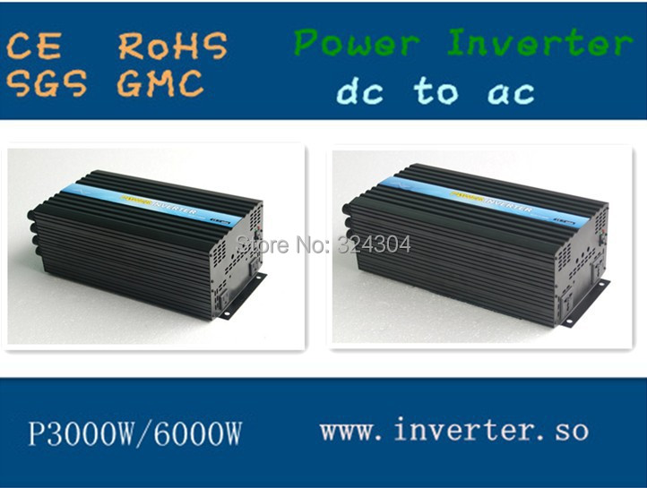 Factory Direct Selling 48v 3000W Power Converter dc to ac100v~240v One Year Warranty(China (Mainland))