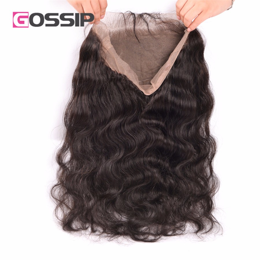 Peruvian Body Wave With Closure 360 Lace Frontal With Bundle 360 Lace Virgin Hair Body Wave 360 Lace Band Frontal With Bundles