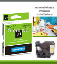 YOKO Brand compatible DYMO label tapes D1 tape cartridge 45010 S0720500