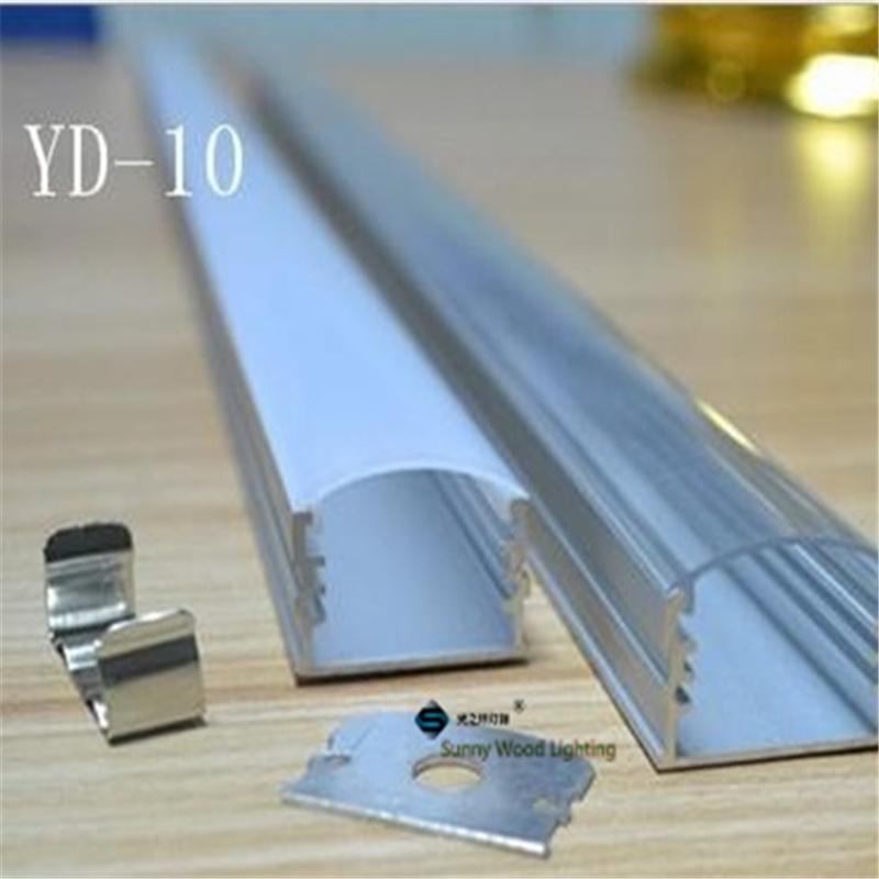 10pcs/lot  led aluminium profile for led bar light, led strip aluminum channel, waterproof aluminum housing Sunny Wood YD-10-F<br><br>Aliexpress