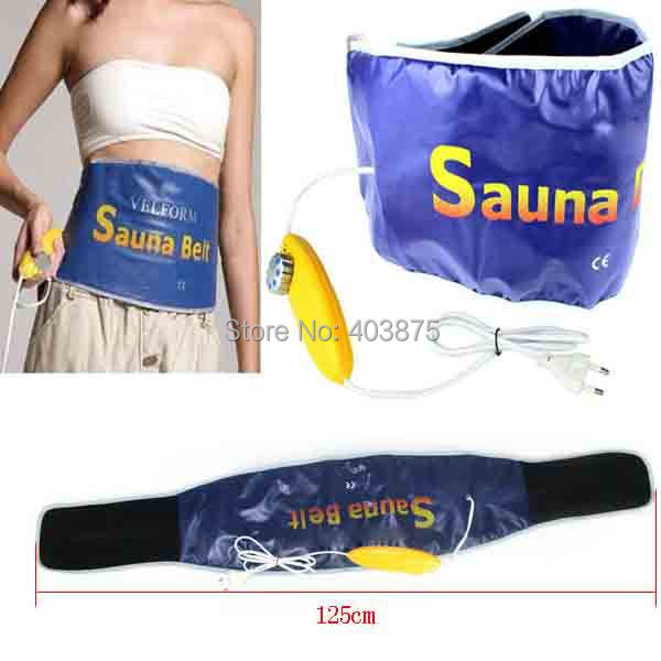 55W Velform Electric Body Tummy Waist Sauna Belt Slimming Quick Weight Loss massage fitness Health care beauty belt freeshipping(China (Mainland))