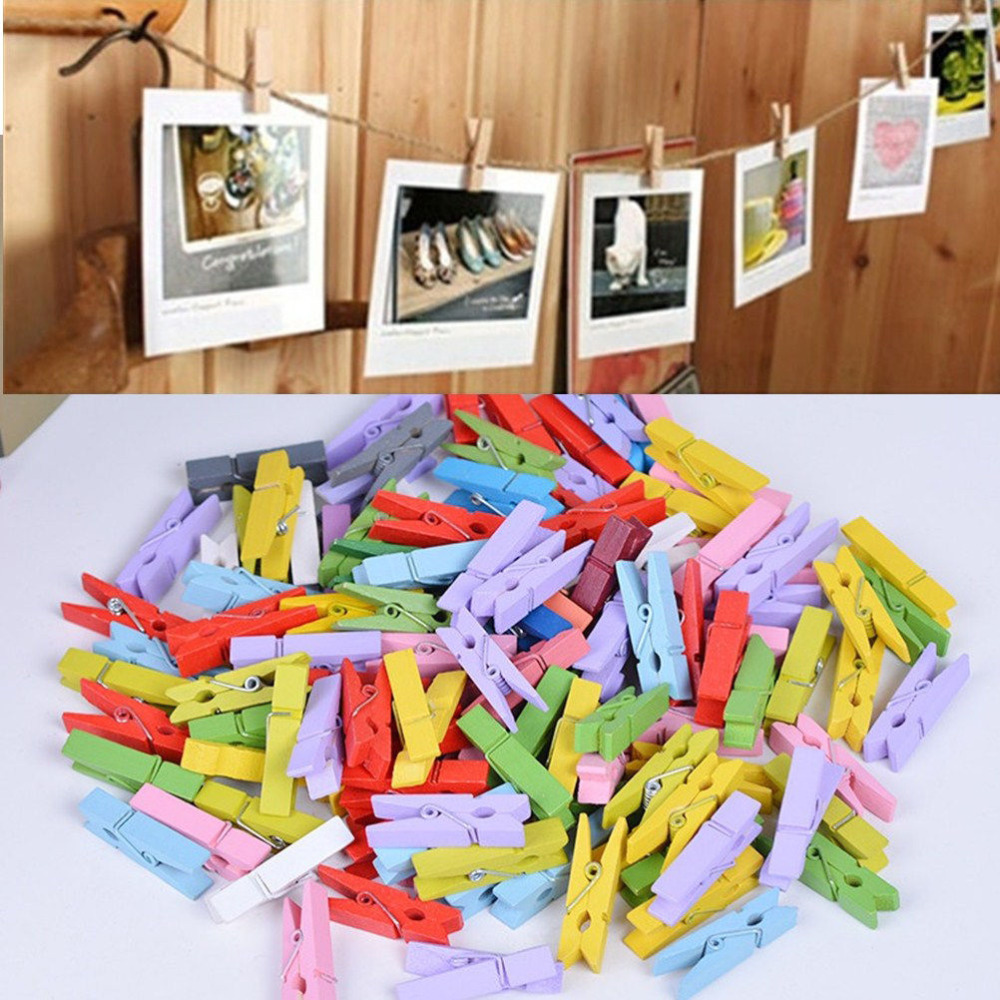 Decorating clothespins promotion shop for promotional for Decoration clips
