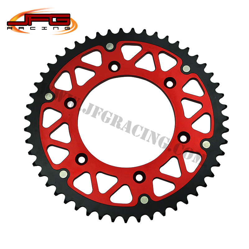 FREE SHIPPING MOTOCROSS  CRF   OFF ROAD MOTORCYCLE SUPERMOTO CNC CHAIN SPROCKETS<br><br>Aliexpress