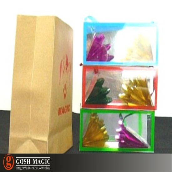Appearing Flower Boxes - Mini ,cool magi-c tricks,Christmas wholesale magi-c store(China (Mainland))