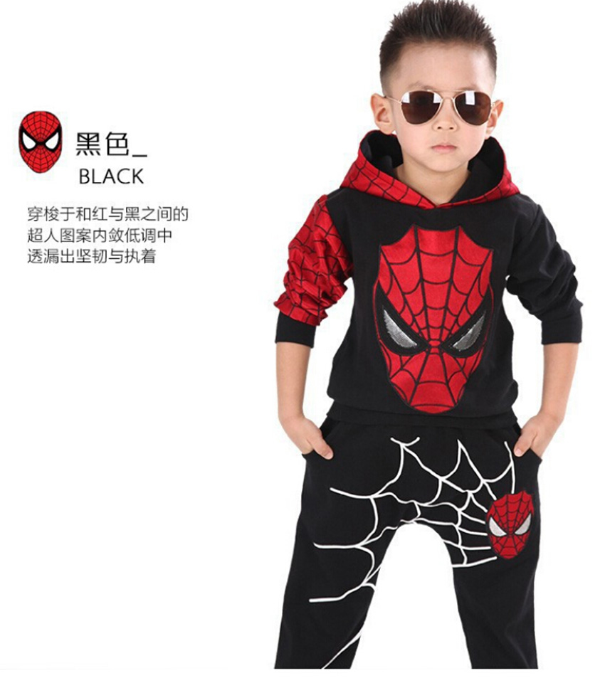 Marvel Comic Classic Spiderman Child Costume, Kids boys fantasia ...