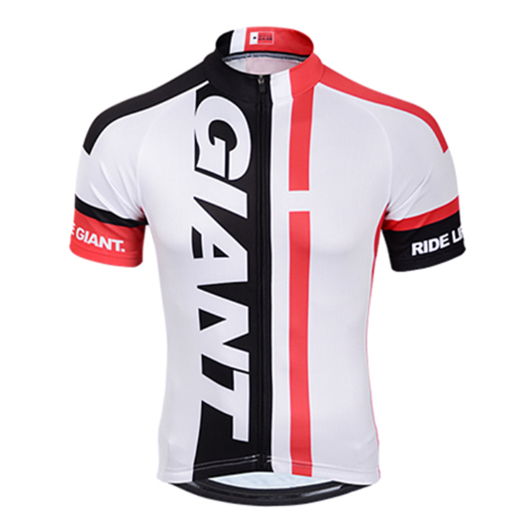 2015 Giant Cycling Jersey Summer 100% Polyester Cycling Clothing Tops Bicycle Bike Jerseys Shirt Breathable Quick Dry<br><br>Aliexpress