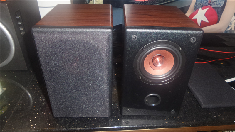 PAIR 4 inches High fidelity all frequency speakers sound quality first-class workmanship praise like tide hot style 25w+25w(China (Mainland))