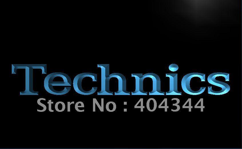 LL149- Technics Turntables DJ Music NEW LED Neon Light Sign home decor shop crafts(China (Mainland))