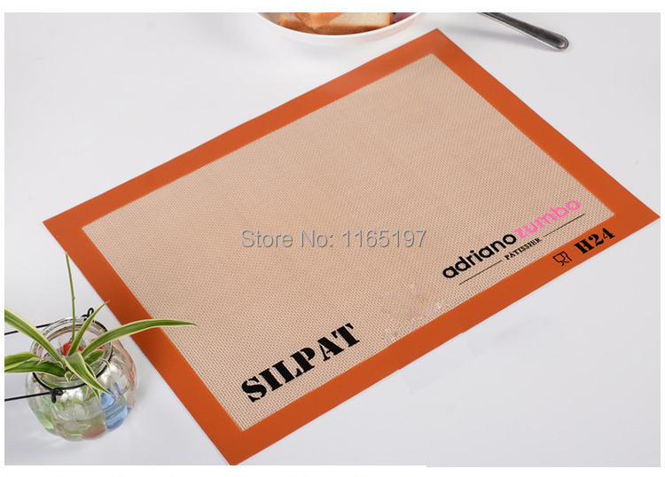 Silpat Non-Stick Baking Mat silicone glass fiber countertop workstation mat rolling dough fondant or messy craft sugarcraft mat(China (Mainland))