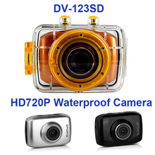 Buy Freeshipping mini digital sports camera DV-123SD 4X digital zoom 720p hd PC interface photo+video action camcorder for $32.25 in AliExpress store