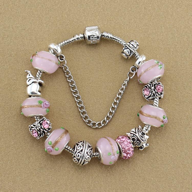 Pandora Pink Beads