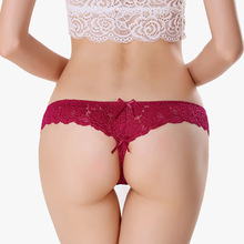 Buy Lace G-string Thongs Women Panties Sexy Briefs G String Low Waist Seamless Lace Panties Underwear Female for $1.25 in AliExpress store