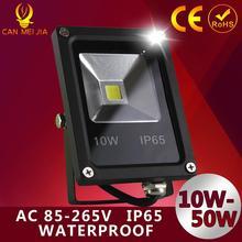 1 pcs 10 w Led lumière crue 20 w 30 w IP65 étanche COB Spotlight extérieure projecteurs de la lampe Led lampe réflecteur de ultrathin 50 w 110 v 220 v(China (Mainland))